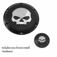 HARLEY DAVIDSON Willie G Skull Derby And Timer Covers XL Sportster 04+ 48 72