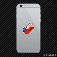Chilean Shocker Cell Phone Sticker Mobile Chile CHL CL