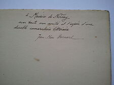 """Jean-Marc BERNARD """"Quelques essais / Poèmes 1904-1909"""" E.O. ENVOI à NOISAY, 1909"""