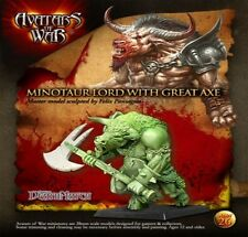 Avatars of War Minotaur Lord with battle axe Beastmen Chaos Beasts BNIB