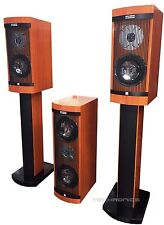 DIGITAL HI END PROFESSIONAL HOME THEATHER FLOOR STANDING SURROUND SPEAKERS NEW