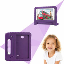 Purple EVA Case Cover with Handle & Stand for Samsung Galaxy Tab4 7.0 T230 T231