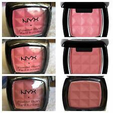 NYX Cosmetics Powder Blush Pick Your Color, Pinched, Mocha, Dusty Rose