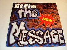 W/4/14 Schallplatte Vinyl Maxi Single Maxisingle THE NEW MESSAGE Nikolaj Stehen