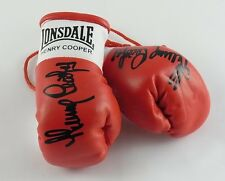 Autographed Mini Boxing Gloves Sir Henry Cooper