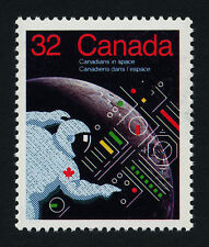 Canada 1046 MNH Canadians in Space