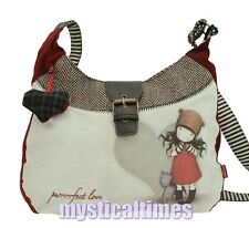 NEW * PURRRRRECT LOVE  * SANTORO GORJUSS SLOUCHY SHOULDER BAG  FREE POST 221PR