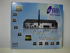 IRIS 9700 HD COMBO WIFI RECEPTOR/DECODIFICADOR SATELITE ENTREGE 24/48 HORAS