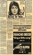 14/4/1973D9 Article & Picture : Paul Mccartney- spilling the beans