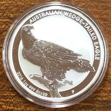 2016 Australian wedge-tailed eagle 1oz coin 9999 silver