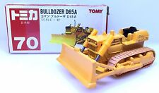 MADE IN JAPAN TOMY TOMICA NO 70 BULLDOZER D65A 1/87 DIECAST CONSTRUCTION TRUCK