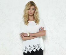 BNWT BY BE YOU,  LASER CUT OUT TOP COLOUR :  IVORY SIZE - SMALL
