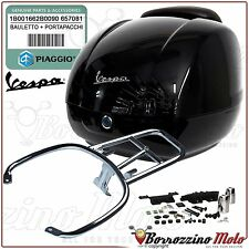 KIT TOP-CASE BLACK 94 OEM PIAGGIO 42 LT VESPA GTS 4T IE SUPER 125 2009-2015