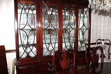 Thomasville Mahogany Dining Table/8 Chairs/China Cabinet/Sideboard-Made in USA