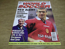 Football Magazine World Soccer October 1996 Bobby Robson Denmark Internazionale