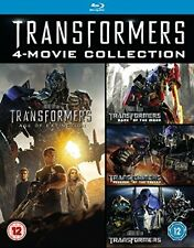 Transformers 1-4 [Blu-ray] Box Set Includes 1 2 3 & 4