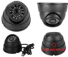 Dome camera con videoregistratore micro SD. Infrarossi IR videocamera sicurezza