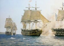 Geoff Hunt Limited Edition Print - H.M.S. Sutherland's Last Battle
