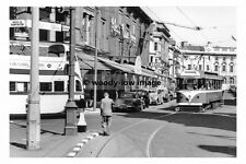 a0149 - Blackpool Tram no 175 in Clifton Street - photograph