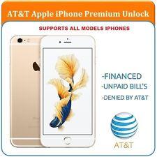 SEMI PREMIUM AT&T Factory Unlock Code Service iPhone 4 4S 5 5C 5S 6 6+ 6s 6s+7+7