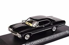 CHEVROLET IMPALA SPORT SEDAN 1967 SUPERNATURAL 1:43 GREENLIGHT 86441 NEW BLACK