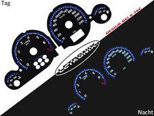 Plasma Tacho Tachoscheiben EL-Dash LETRONIX Opel Astra G Zafira A 0-240Km/h #