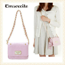 My Melody Emsexcite Mini Chain Shoulder Bag & Card Holder Christmas Gift Women