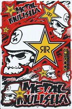 Nue Rockstar Energy Racing Supercross Grafik Aufkleber stickers set. (st193)