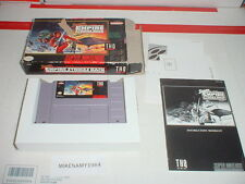STAR WARS: THE EMPIRE STRIKES BACK in worn box w/ manual Super Nintendo SNES