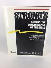 Strongs Exhaustive Concordance Of The Bible James Strong Book Unabridged VG
