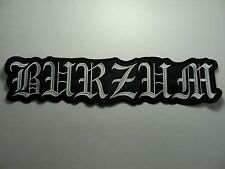 1BURZUM EMBROIDERED BACK PATCH