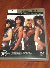 MOTLEY CRUE - Universal Classic Collection DVD As New Super RARE OOP NTSC