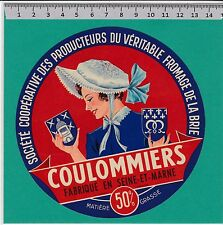 I1187 FROMAGE COULOMMIERS SEINE ET MARNE BRIE