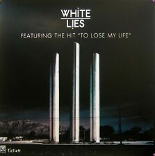 WHITE LIES POSTER PRINTED ON VINYL (V8)
