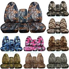 1994-2002 Dodge Ram 40/20/40 Camo Truck Seat Covers w Console/Armrest 16 Prints!