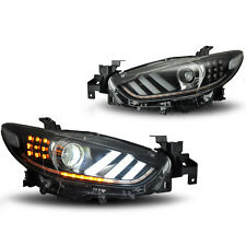 Aftermarket HID Xenon Projector Headlights Assembly for Mazda 6 aka atenza