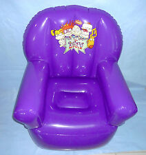 RARE Rugrats Movie Nickelodeon Large Inflatable Blow Up Chair NEW Condition 1999