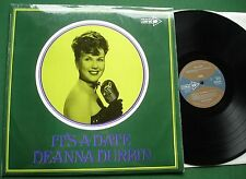 Deanna Durbin It's a Date inc Amapola When April Sings + LP
