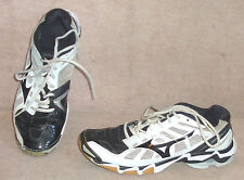 Women's black/gray  MIZUNO  Wave Lightning RX2 volleyball  shoes , sz 11