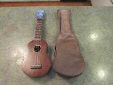 Vintage 1950s Hawaii Mahogany Hawaiian ALOHA ROYAL Uke Ukulele w Original Case
