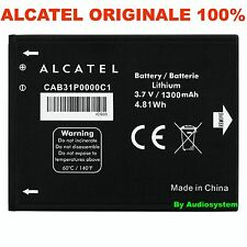 BATTERIA 1300Mah ORIGINALE PER ALCATEL ONE TOUCH PIXI 4007 CAB31P0000C1 OT 908