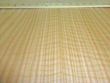 "Red Oak Figured Tiger Flame wood veneer sheet 24"" x 96"" with paper backer 1/40"""