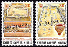 CYPRUS 1995 3rd INTERNATIONAL CONGRESS OF CYPRIOT STUDIES SPECIMEN MNH