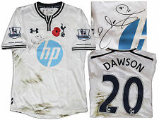 Tottenham Shirt Match Worn by Michael Dawson w Club COA