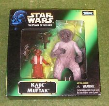STAR WARS THE POWER OF THE FORCE KABE and MUFTAK