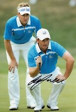 Graeme McDowell Signed Golf Photo Ryder Cup GMac