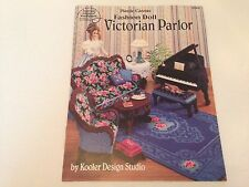 Plastic Canvas Fashion Doll Victorian Parlor American School of Needlework 3149