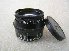 Russian LENS JUPITER 8 Black. 50mm f/2 - M39 Zorki, FED, Leica