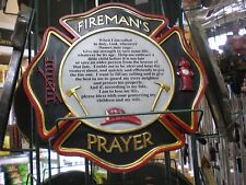 "Fireman""s Prayer..Stepping Stone or Wall Hanging"