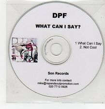 (FF564) DPF, What Can I Say? - DJ CD
